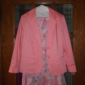 Jackets & Blazers - Croft and Barrow jacket 10 and skirt 12